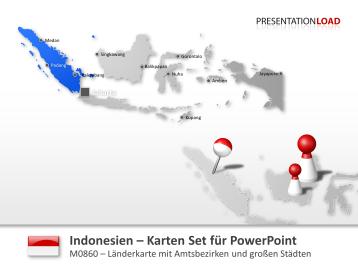 Indonesien _https://www.presentationload.de/landkarte-indonesien.html