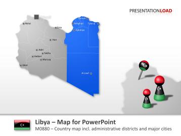 Libya _https://www.presentationload.com/map-libya.html