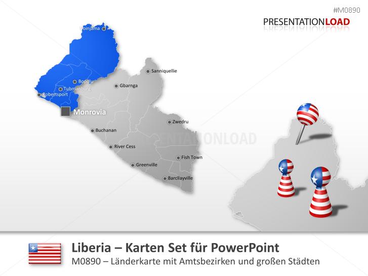 Liberia _https://www.presentationload.de/landkarte-liberia.html