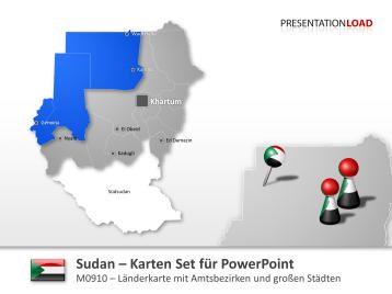 Sudan _https://www.presentationload.de/landkarte-sudan.html