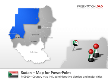 Sudan _https://www.presentationload.com/map-sudan.html