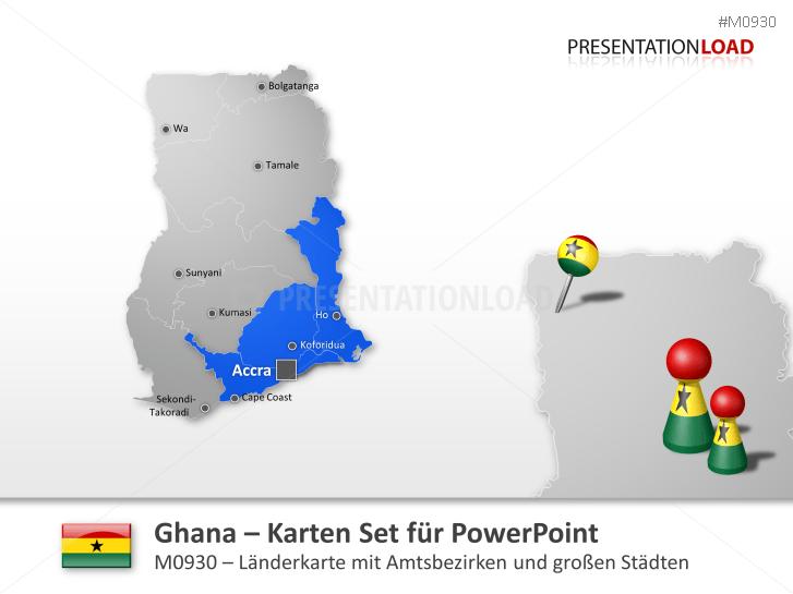 Ghana _https://www.presentationload.de/landkarte-ghana.html