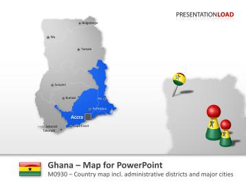 Ghana _https://www.presentationload.com/map-ghana.html