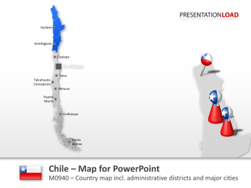 Chile _https://www.presentationload.com/map-chile.html