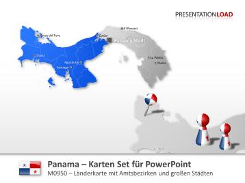 Panama _https://www.presentationload.de/landkarte-panama.html