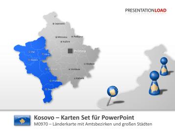 Kosovo _https://www.presentationload.de/landkarte-kosovo.html