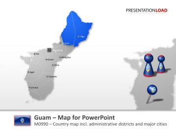 Guam _https://www.presentationload.com/map-guam.html