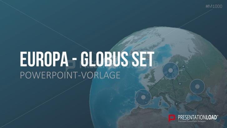 Globus-Set - Europa