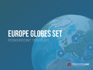 Set de globos terráqueos- Europa _https://www.presentationload.es/globos-europa-1.html