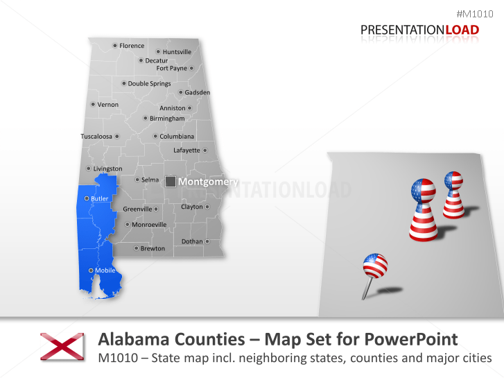 Condados de Alabama _https://www.presentationload.es/alabama-counties.html