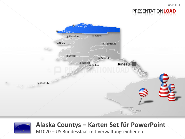 Alaska Counties _https://www.presentationload.de/landkarte-alaska-counties.html