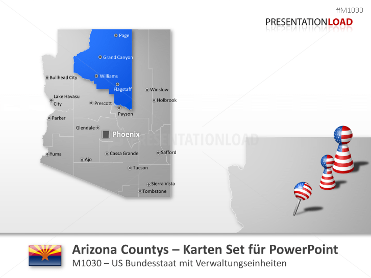 Arizona Counties _https://www.presentationload.de/landkarte-arizona-counties.html