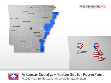 Arkansas Countys _https://www.presentationload.de/landkarte-arkansas-counties.html