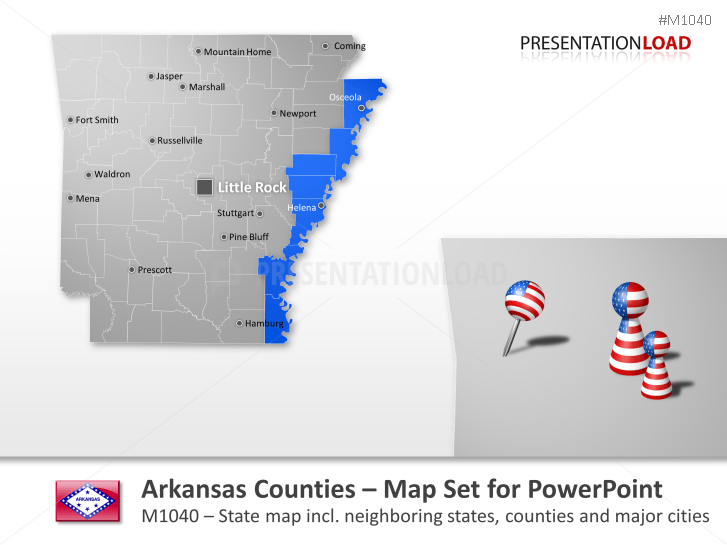 Condado de Arkansas _https://www.presentationload.es/arkansas-counties.html
