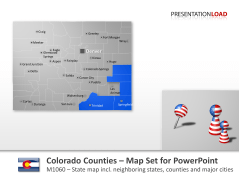 Comtés du Colorado _https://www.presentationload.fr/colorado-counties.html