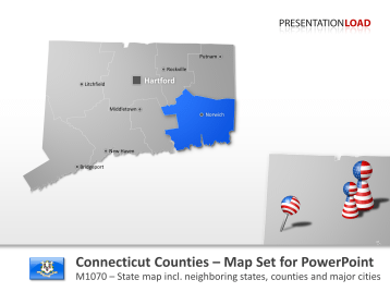 Connecticut Counties _https://www.presentationload.com/map-connecticut-counties.html
