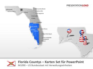Florida Counties _https://www.presentationload.de/landkarte-florida-counties.html