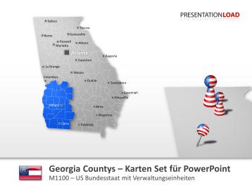 Georgia Counties _https://www.presentationload.de/landkarte-georgia-counties.html