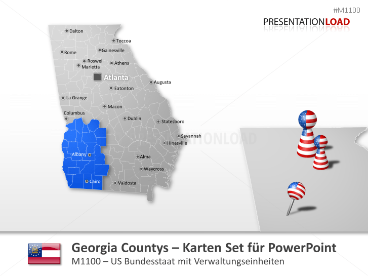 Georgia Counties _https://www.presentationload.de/landkarte-georgia-counties.html