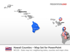 Comtés d'Hawaï _https://www.presentationload.fr/hawaii-counties.html