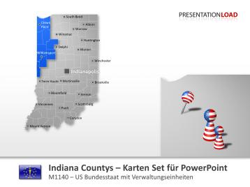 Indiana Counties _https://www.presentationload.de/landkarte-indiana-counties.html