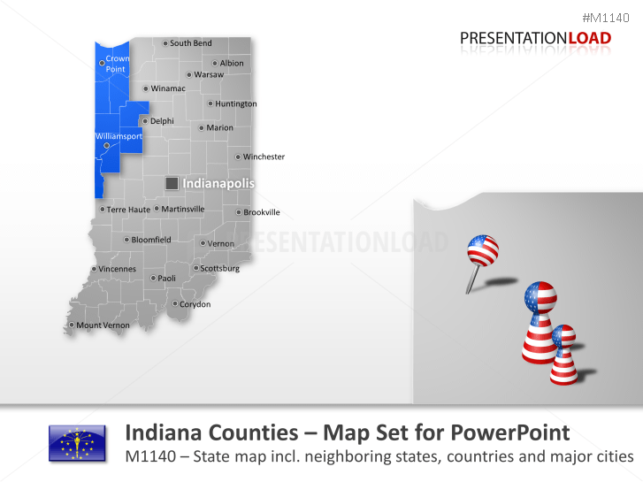 Indiana Counties _https://www.presentationload.com/map-indiana-counties.html