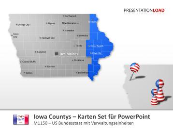 Iowa Counties _https://www.presentationload.de/landkarte-iowa-counties.html
