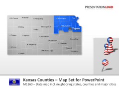 Comtés du Kansas _https://www.presentationload.fr/kansas-counties-1.html