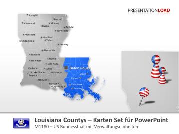 Louisiana Counties _https://www.presentationload.de/landkarte-louisiana-counties.html