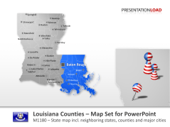 Condados de Luisiana _https://www.presentationload.es/louisiana-counties.html