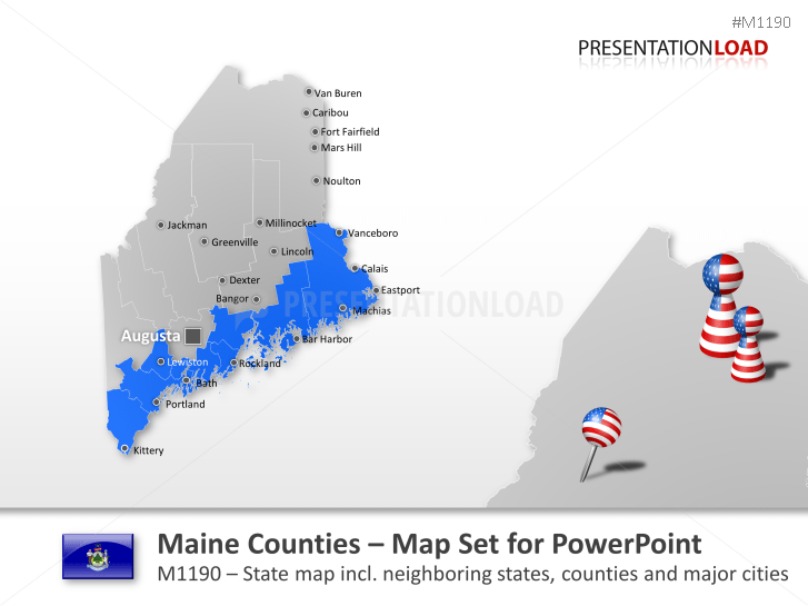 Comtés du Maine _https://www.presentationload.fr/maine-counties-1.html