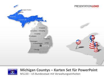 Michigan Counties _https://www.presentationload.de/landkarte-michigan-counties.html
