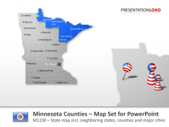 Comtés du Minnesota _https://www.presentationload.fr/minnesota-counties-1.html