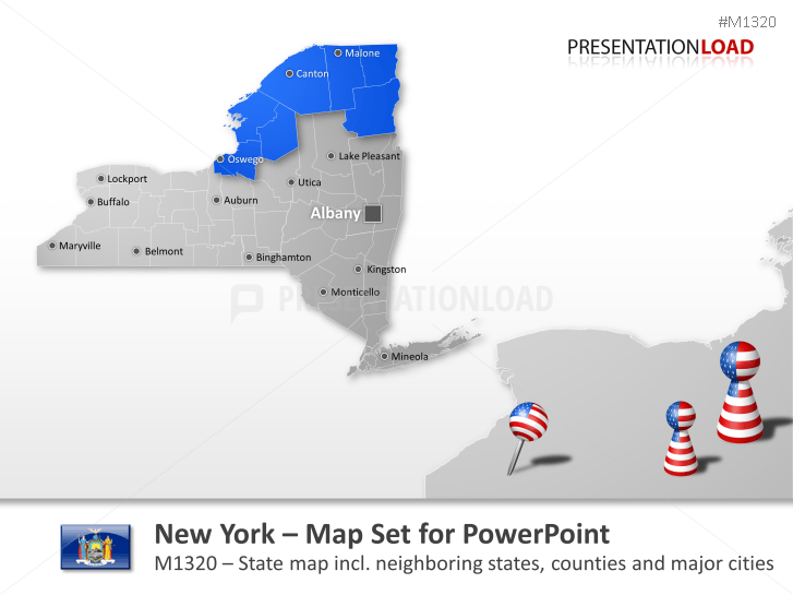 Comtés de New York _https://www.presentationload.fr/new-york-counties.html