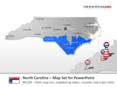 Comtés de la Caroline du Nord _https://www.presentationload.fr/north-carolina-counties.html