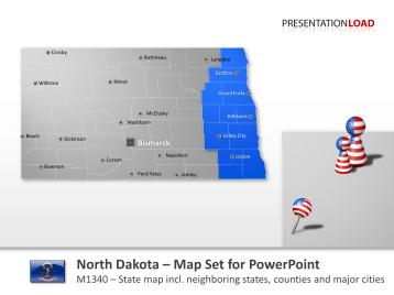 North Dakota Counties _https://www.presentationload.com/map-north-dakota-counties.html