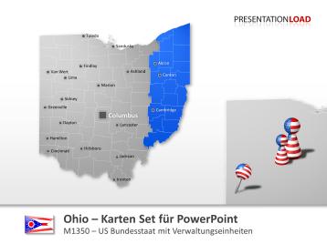 Ohio Counties _https://www.presentationload.de/landkarte-ohio-counties.html