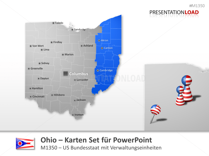 Ohio Counties _https://www.presentationload.de/landkarte-ohio-counties.html