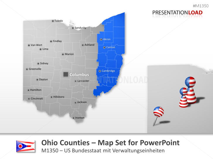 Ohio Counties _https://www.presentationload.com/map-ohio-counties.html