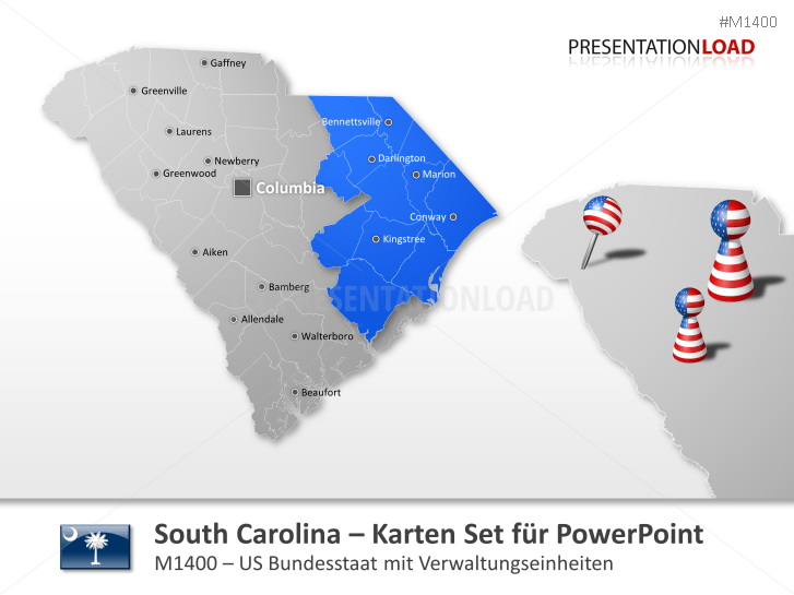 South Carolina Counties _https://www.presentationload.de/landkarten-south-carolina-counties.html