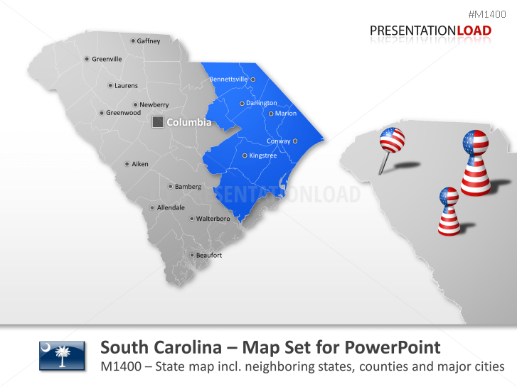 Condados de Carolina del Sur _https://www.presentationload.es/condados-de-south-carolina.html