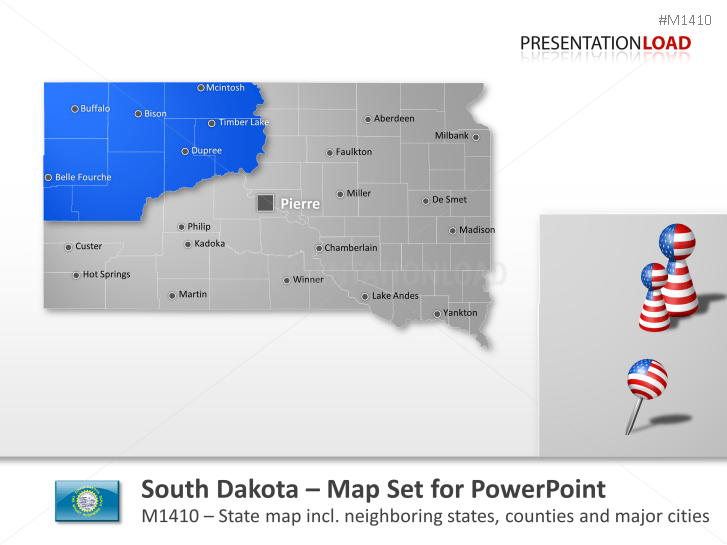 South Dakota Counties _https://www.presentationload.com/map-south-dakota-counties.html