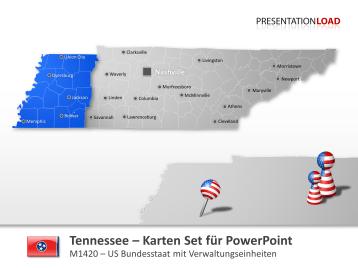 Tennessee Counties _https://www.presentationload.de/powerpoint-landkarten/Tennessee-Counties.html