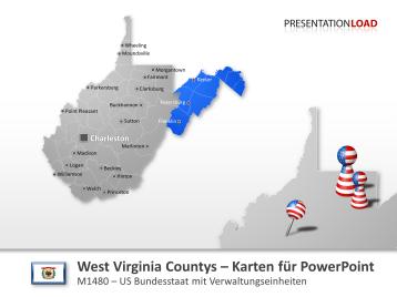 West Virginia Counties _https://www.presentationload.de/landkarte-west-virginia-counties.html