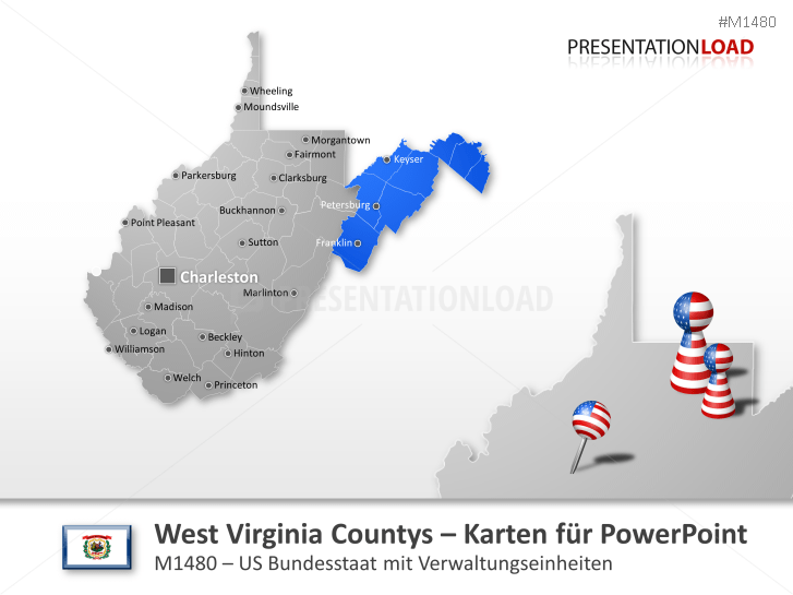West Virginia Counties _https://www.presentationload.de/landkarte-west-virginia-counties.html