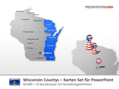 Wisconsin Counties _https://www.presentationload.de/landkarte-wisconsin-counties.html