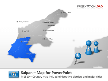 Saipan _https://www.presentationload.com/map-saipan.html