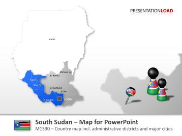 South Sudan _https://www.presentationload.com/map-south-sudan.html