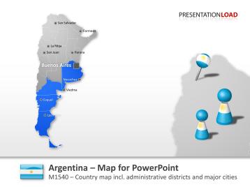 Argentina _https://www.presentationload.com/map-argentina.html