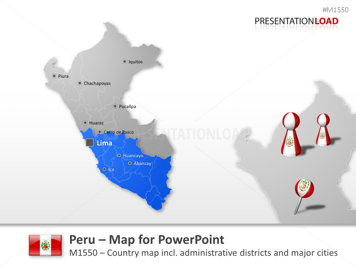 Peru _https://www.presentationload.com/map-peru.html